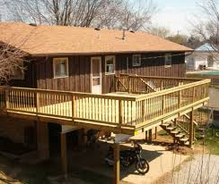 Wrap Around Deck by Large Wooden Decks Google Search Landscaping Ideas Pinterest