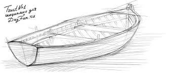 how to draw a boat step by step arcmel com