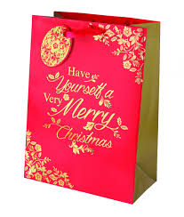 christmas gift bag rich traditions large christmas gift bag cancer research uk