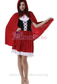 Red Riding Hood Costume Little Red Riding Hood Costume 2 Pan In The Box Singapore