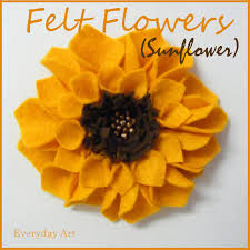 over 50 free felt flower patterns and tutorials at allcrafts