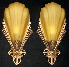 Art Deco Wall Sconces Gstudio Us U2013 Awesome Sconces Ideas To Complete Your Room