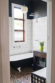 Black Bathroom Floor Tiles Let U0027s Discuss Patterned Cement Tile Elements Of Style Blog