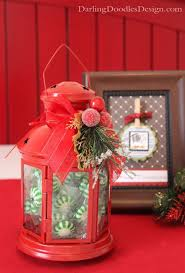 Lanterns Decorated For Christmas by Stunning Christmas Lantern Decorations Ideas All About Christmas