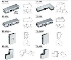 tempered glass door hardware china glass hinge gate accessories floor spring td 630 china