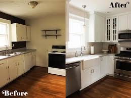 Kitchen Remodels Ideas Small Kitchen Diy Ideas Before After Remodel Pictures Of Tiny