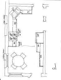 kitchen design kitchen floor planouts with island u shaped plans