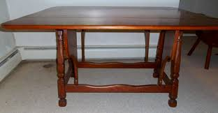Maple Drop Leaf Table Absolute Auctions U0026 Realty