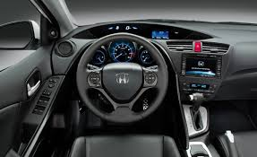 inside of a honda civic european honda civic debuts at frankfurt auto car and