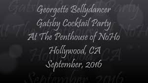 gatsby cocktail party at the penthouse of noho hollywood c a