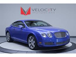 bentley coupe blue 2007 bentley continental gt for sale in nashville tn stock