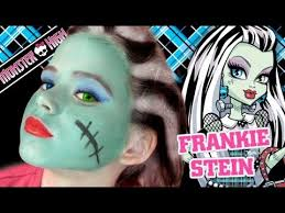 with rapidly approaching why not let emma an makeup guru show you how to create a great monster high frankie stein look