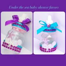 the sea baby shower ideas mermaid cake baby shower decor centerpiece present purple