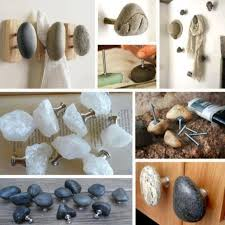 diy knobs on kitchen cabinets how to make diy rock cabinet knobs how to