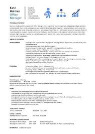 office manager cover letter example office manager cv sample