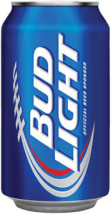 bud light beer can bud light 12oz 355ml can 24 pack amazon co uk grocery