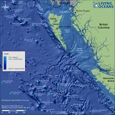 Ocean Depth Map British Columbia Marine Topography Living Oceans