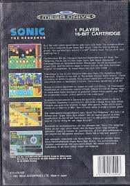 med si e sonic the hedgehog trade in post