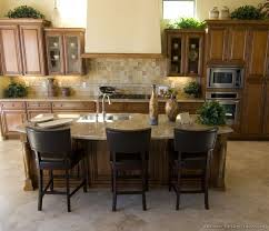 Best Amazing Kitchens Images On Pinterest Dream Kitchens - Medium brown kitchen cabinets