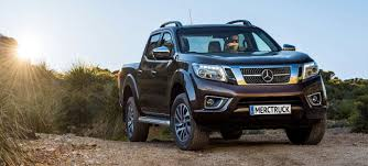mercedes work truck mercedes x class truck will come in work and luxury trims