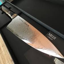 bob kramer meiji chef u0027s knives by zwilling j a henckels sur la