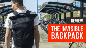 invisible backpack review best backpack in the world youtube