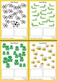 count on from 10 worksheets set 3