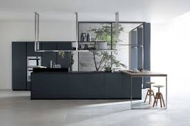 Rectangular Kitchen Design by Kitchen Contemporary Grey Kitchen Design With Rectangle Walnut