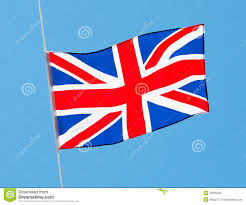 English Flag English Flag In Wind Against A Sky Stock Photo Image 32635200