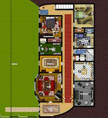 hobbit hole floor plan bored so here s my modern hobbit hole floorplan imgur