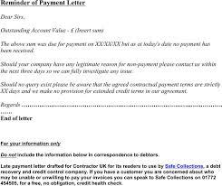 payment reminder letter templates download free u0026 premium