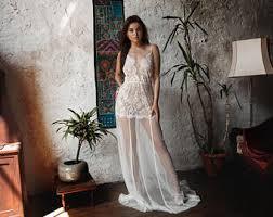 Wedding Sleepwear Bride Bridal Nightgown Etsy