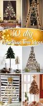 Diy Christmas Home Decor 30 Diy Christmas Tree Ideas To Go A Little Unconventional This