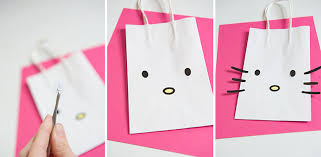 hello gift bags how to make a hello party favor bag
