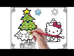 kitty coloring book kitty christmas kitty
