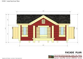 House Design Free Home Garden Plans Dh302 Insulated Dog House Plans Construction