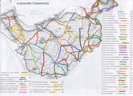England County Map by Turnpike Roads In England And Tollhouses