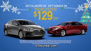 hyundai sonata lease price 2017 hyundai elantra or sonata lease 129 a month