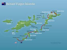 map of bvi and usvi swimming islands swimtrek