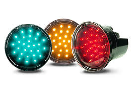 led traffic signal lights products display current by ge