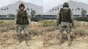 Army Uniform Flag Patch Enhanced Us Army Gta5 Mods Com