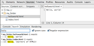 set up persistence with devtools workspaces tools for web