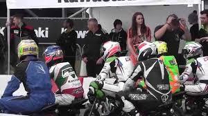 mini motocross racing world of kawasaki 2015 mini moto race at rockingham youtube