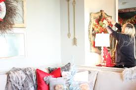 christmas decorations red lantern decor by pier 1 magic brush