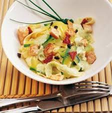cuisiner le saumon frais tagliatelles courgettes et saumon frais recette tagliatelles