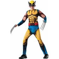 Walmart Halloween Costumes Toddlers Marvel Deluxe Wolverine Boys U0027 Child Halloween Costume Walmart