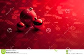 red christmas ornaments banner background royalty free stock