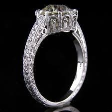 1283 1 art deco reproduction micro pave set single cut diamond