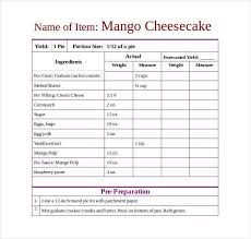 recipe template skillbazaar co