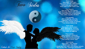 Quotes About Light And Dark Two Sides Duet Poem W Just Patty The Story Of A Guy